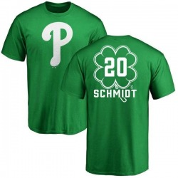 Youth Mike Schmidt Philadelphia Phillies Dubliner Name & Number T-Shirt - Kelly Green